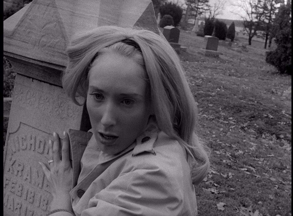 Judith O'Dea en La noche de los muertos vivientes